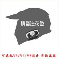 机车盔摩托车头盔双镜片公路越野两用全盔ATV机赛车拉力盔四季