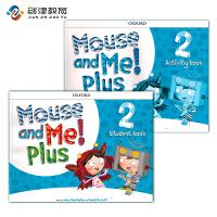 原装正版 牛津幼儿英语教材 mouse and me plus 第二册套装 含学生课本+练习册