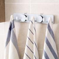 吸盘免打孔创意真空挂钩厨房壁挂排钩浴室墙壁瓷砖强力毛巾置物架