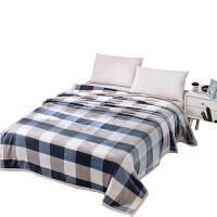 珊瑚绒床单法兰绒毛毯加厚单人盖毯学生午睡双层毯子双人冬季被子