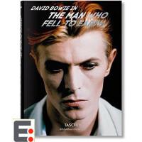 David Bowie: The Man Who Fell to Earth 大卫鲍威摄影画册集 摄影图书籍 英文原版摄影画册作品集
