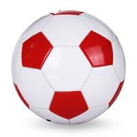 4号足球训练学生标准儿童4号足球中小学生中考足球 红白色