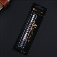 笔芯 宝珠笔签字笔笔芯0.7mm 0.5mm黑色水笔芯pimio