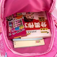 书包小学生3-6年级女孩子大容量双肩包儿童卡通书包轻防水护脊