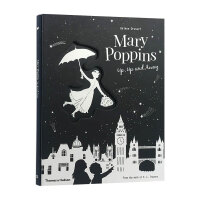【T&H】Helene Druvert纸雕艺术儿童书 Mary Poppins Up, Up and Away 英文原版