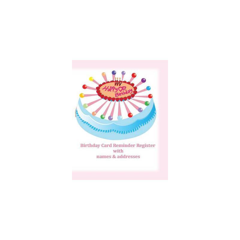 【预订】Birthday Card Reminder Register with Names & Addresses 预订商品,需要1-3个月发货,非质量问题不接受退换货。