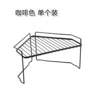铁艺三角置物架 厨房锅具整理架收纳架 可叠加落地毛巾收纳架角架