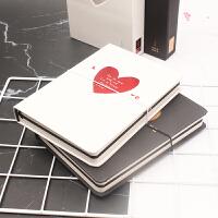 微本设计精美恋爱系列手账本 情侣日记本 A5创意手帐记事本礼盒装