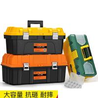 工具箱手提式大号塑料五金工具箱家用多功能维修工具收纳箱车载盒n0l