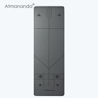 Atmananda正位瑜伽垫 引导正确练习 防滑超薄瑜珈垫子 户外运动健身垫 173cm*61cm*2mm