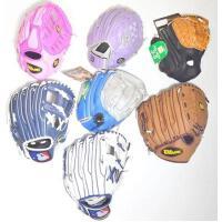 儿童款投手内场通用棒球手套9-10英寸库存随机发