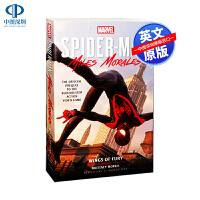 英文原版 Marvel s Spider Man Miles Morales Wings Of Fury 蜘蛛侠迈尔斯前