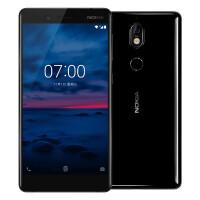 【苏宁易购】Nokia/诺基亚7 4GB+64GB 黑色 移动联通电信4G手机