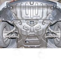 16奔驰新E级发动机护板改装 新E级防护板 保护挡板底盘装甲下护板 *