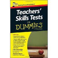 【预订】Teacher's Skills Tests for Dummies