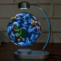 磁悬浮地球仪大号发光自转 创意礼品办公室桌面装饰夜灯摆件