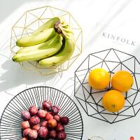 北欧现代简约创意果盘装饰品茶几摆设客厅卧室家用摆件水果篮