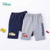 迪士尼(Disney)童装 男童裤子2020年夏季新品纯棉五分裤男宝宝时尚休闲百搭裤