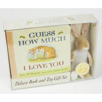 【预订】Guess How Much I Love You: Deluxe Book and Toy Gift Set