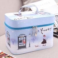 化妆包小号便携韩国简约可爱少女心大号大容量收纳盒品化妆箱手提