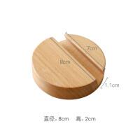 简约榉木手机支架桌面懒人日式多功能直播追剧便携通用创意 榉木手机支架