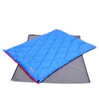 户外睡袋 防水学生睡袋 春夏单双人轻信封式睡袋