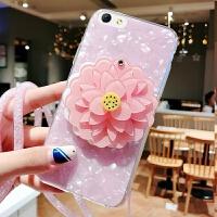iphone6手机壳苹果6s套六韩国A1700卡通品果6s创意女款iPhine6s软 贝壳镜子山茶花