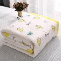 素色小孩水洗棉被套三件绒毛床上宿舍春夏夏天被罩全罩卡通可水洗