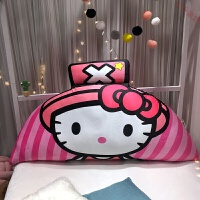 卡通床头靠垫可爱韩式大靠背可拆洗榻榻米软包靠枕儿童公主风床靠