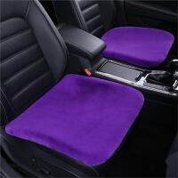 汽车坐垫冬季毛绒三件套无靠背冬天保暖座垫单个片屁屁垫短毛垫子