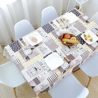 餐桌布防水防油防烫免洗桌布PVC塑料台布餐厅长方形茶几桌垫
