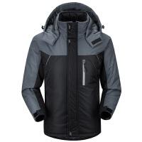 冬季休闲运动外套男士中长款中年棉袄子加厚冬装工作服 保暖 防风 耐磨