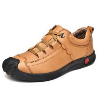 真皮登山鞋户外运动休闲鞋透气防滑耐磨轻便徒步鞋男士旅游鞋