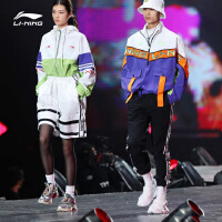 中国李宁纽约时装周走秀系列卫裤BAD FIVE篮球系列休闲男子运动裤
