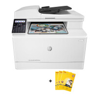 惠普M180n/M181fw/M280/M281彩色激光打印机一体机M181fw无线网络商务办公传真照片打印机一体机标