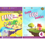 (100减20)【3-4年级】Fun for Movers 第4版 剑桥小学英语课外补充练习材料 YLE剑桥认证 剑桥
