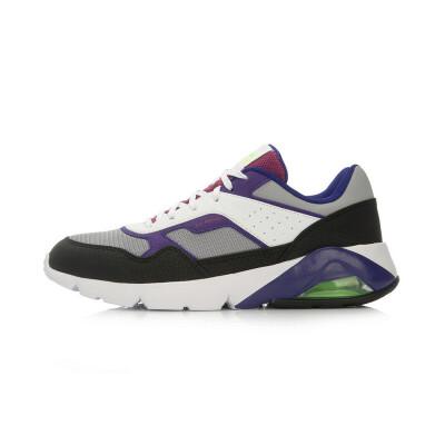 李宁跑步鞋女鞋春季气垫防滑耐磨休闲复古运动鞋板鞋ARCL046
