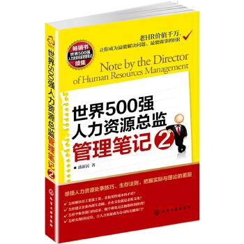 世界500强人力资源总监管理笔记2(pdf+txt+epub+azw3+mobi电子书在线阅读下载)