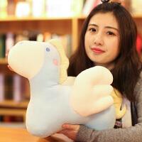 小飞马公仔可爱天使马抱枕玩偶布娃娃毛绒玩具送女生生日礼物