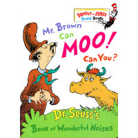 Mr.Brown Can Moo! Can You? 苏斯博士:布朗先生可以��〗�!你行么?(卡板书)97806798