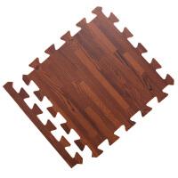 泡沫地垫卧室拼接垫子家用地板垫加厚儿童爬行垫木纹地毯 抖音