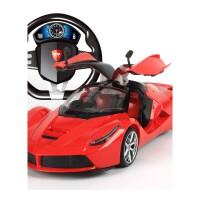 超大型遥控汽车可开门方向盘充电动遥控赛车男孩儿童玩具跑车模型抖音