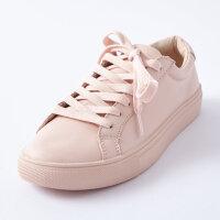 【1件3折到手价:91.5】美特斯邦威低帮板鞋新款女皮质二代常年款板鞋202764