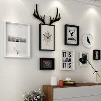 客厅装饰画沙发背景墙欧式壁画大气组合挂画餐厅墙面现代简约墙画 适合2~4米墙面