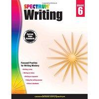 【现货】英文原版 光谱写作练习册 6年级 Spectrum Writing, Grade 6