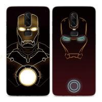 一加5t钢铁侠手机壳一加6漫威软套1+5t复仇者联盟1+6潮硅胶五薄六 一加5t 515黄色能量源
