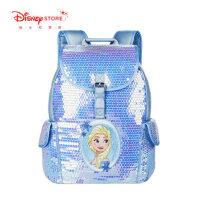 迪士尼商店 学生书包迪士尼公主冰雪奇缘艾莎公主儿童双肩背包
