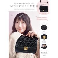 现货【日版】MERCURYDUO EMBOSS SHOULDER BAG BOOK 黑色挎包 宝�u社 日本原装进口 正版