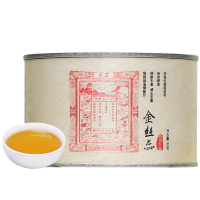 【领�涣⒓�50元】元正花果蜜香金丝蕊特级正山小种红茶50g罐金骏眉工艺