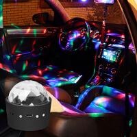 20191113024859700汽车DJ灯车载音乐节奏氛围灯车内声控led装饰彩灯室内爆闪舞台灯